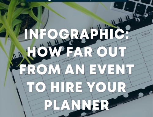 Infographic: How Far Out From an Event to Hire Your Planner